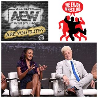 CODY AND BRANDI RHODES INTERVIEW: Cody and Brandi talk AEW's new TNT show and balancing their in-ring and corporate roles.
