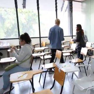 Continúan exámenes en IPN y UNAM