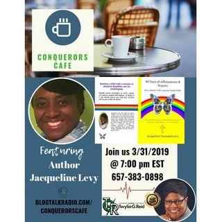 Conquerors Cafe Author Spotlight Featuring Author Jacqueline Levy