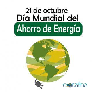 NUESTRO OXÍGENO 21 de  octubre Día Mundial del Ahorro de Energía