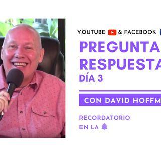 Preguntas y respuestas en VIVO con David Hoffmeister - Día 3 - Un curso de milagros