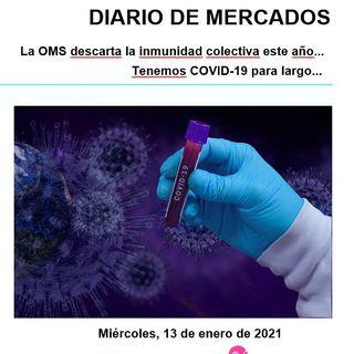 DIARIO DE MERCADOS Miércoles 13 Enero