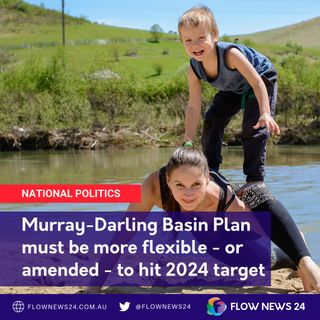 Will the Murray-Darling Basin Plan reach its water recovery targets by 2024, and what if it doesn't? - with @RikkiLambert