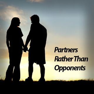 Show 124:  Partners Rather Than Opponents