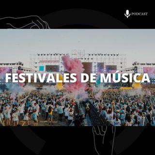 7. Festivales de música