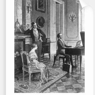 Mendelssohn al piano