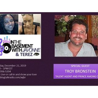 Troy Bronstein on Brunch in the Basement with JaVonne & Terez