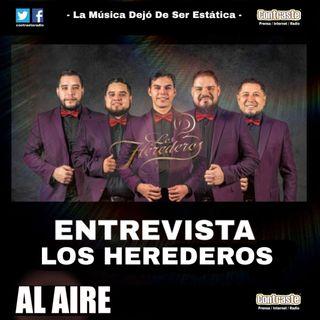 Entrevista Los Herederos EN VIVO CONTRASTE FM