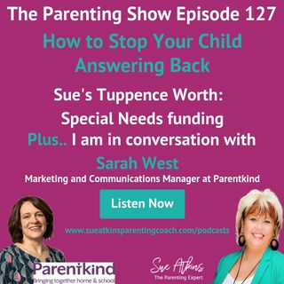 How to Stop Your Child Answering Back SAPS127