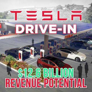 133. Tesla Drive-In Restaurants | $12 Billion Revenue Potential 🍔🍟