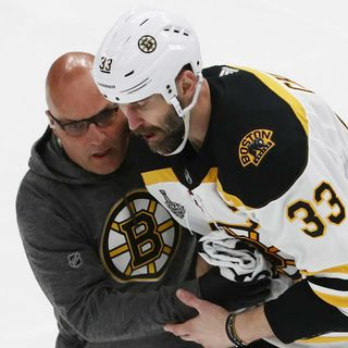 Bruins Know Captain Zdeno Chara Isn't Easily Replaceable