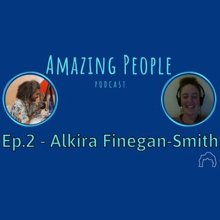 How Alkira and Federico Met | Amazing People Ep. 2 - Alkira Finegan-Smith