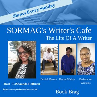 Book Brag With - Derrick D. Barnes, Denise Walker, Barbara Joe Williams - Season 4 Episode 4