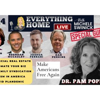 214 LIVE: DR. PAM POPPER + Real Estate, Automation, Multifamily, Racism, Covid19