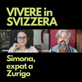 Simona, expat a Zurigo