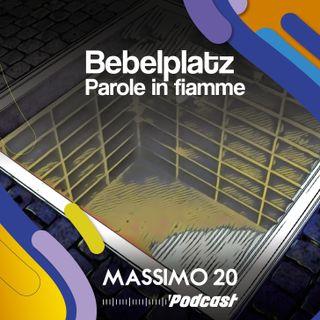 Bebelplatz - Parole in fiamme
