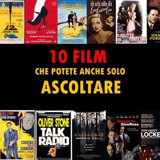 """Diari di Cineclub """"10 Alfred Channel. 10 film che potete anche ascoltare""""  di e con Giorgio Campani 1° puntata"""