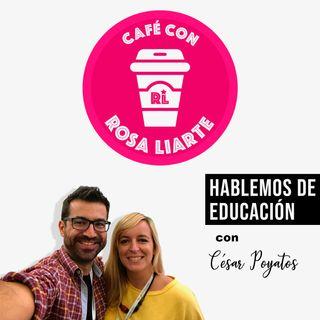 """11 - César Poyatos - """"Hay que usar la tecnología en beneficio del aprendizaje de nuestros estudiantes"""""""