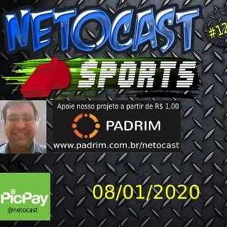 NETOCAST 1239 DE 08/01/2020 - BOLETIM DE ESPORTES - NFL - NBA
