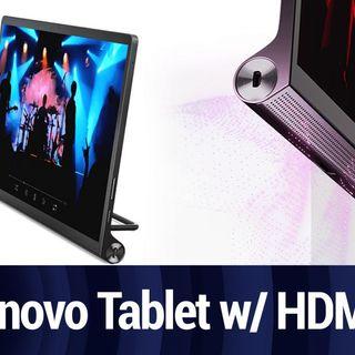 Lenovo Yoga Tab 13 Can Also Be an External Monitor