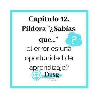 12_Sabías que... el error es una oportunidad de aprendizaje