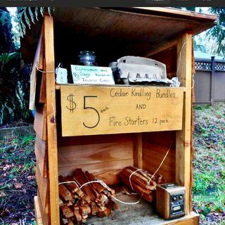 Gathering winter fuel