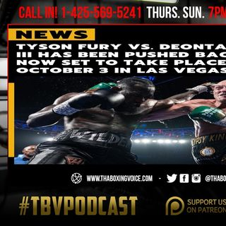 ☎️Fury-Wilder 3 Scheduled for Oct 3 in Vegas❗️Marquez-Hatton😂Charlo-Andrade Still No Go🤦🏽‍♂️