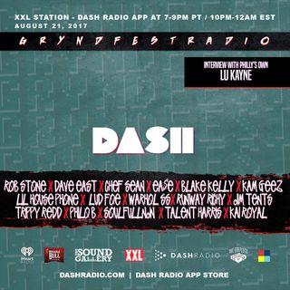 [8/21] @Dash_Radio #XXL : #GryndfestRadio #TakerOver Guest Djs Vol 38 #dinnerland #theearplugs