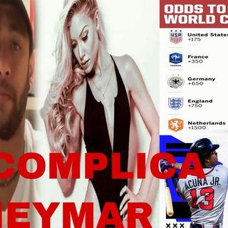 Episodio 12 - Caso Neymar, Calientes los Rays en MLB, Doblete De Messi, gol más rápido en el mundial femenino y más