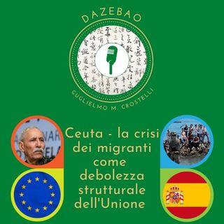 Ceuta - la crisi dei migranti come debolezza strutturale dell'Unione Europea