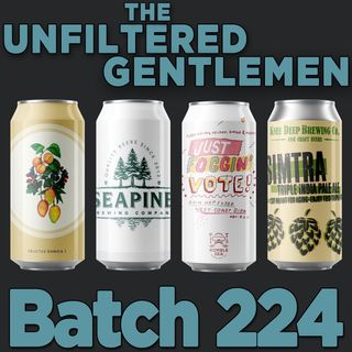 Batch224: Knee Deep Simtra, Humble Sea Just Foggin' Vote!, Evil Twin Fructus Danica & Seapine Brewing Rainbow Suspenders