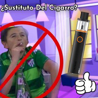 ¿Sustituto del cigarro?