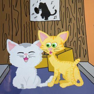 Melo y Melames, los gatos cosmicos