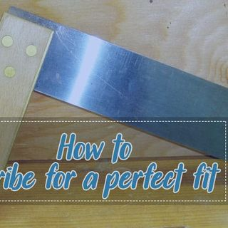 Here Some Methods That Helping How To Scribe For A Perfect Fit