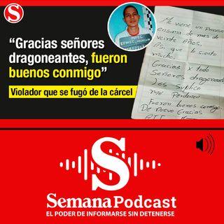 El preso que se fugó de la cárcel Bellavista y dejó una carta disculpándose