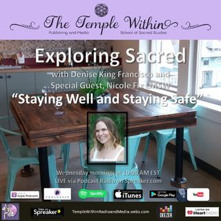 Staying Well and Staying Safe with Nicole Fix, LMSW