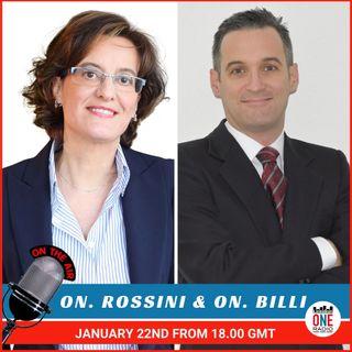 Brexit Special:  il futuro degli italiani in UK e IMU per gli italiani all'estero, ne parliamo con l'On. Billi e l'On. Rossini