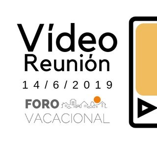 Videoreunión especialistas Curso Marketing vacacional 14 junio 19