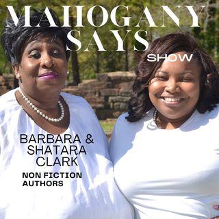 Meet Mother Daughter non-fiction Authors Barbara and Shatara Clark