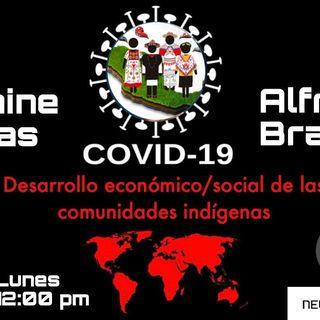COVID-19, Desarrollo económico/social de las comunidades indígenas