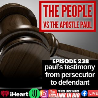 Ep 237 Gospel Power of Your Testimony: How Jesus Alone is enough Philippians 3:1-12