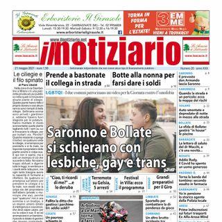 Prima pagina - Il Notiziario del 21 maggio 2021