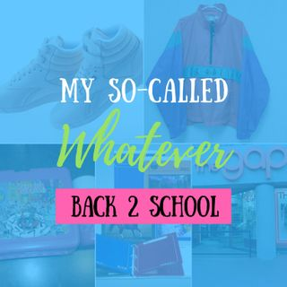 Back 2 School Cool - Nostalgic 80's and 90's Back to School Memories