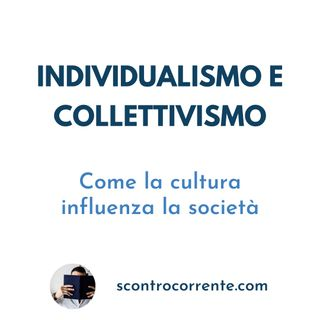 #2 - Individualismo e collettivismo