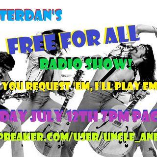DJ Quitterdan's Free for All!!!