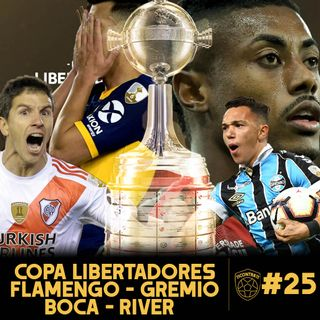 11contra11 #25 Copa Libertadores ¿Quien se llevará?