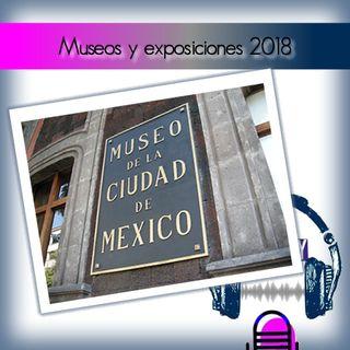 Museos y exposiciones 2018