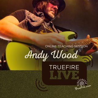 Andy Wood Guitar Lessons, Performance, & Interview