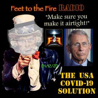 F2F Radio - COVID19 Solution: MAKE IT CHOKE TIGHT