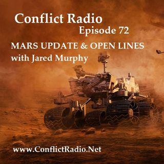 Episode 72  MARS UPDATE & OPEN LINES with Jared Murphy